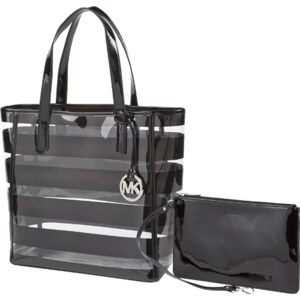 Michael Kors Strandshopper in Lack-Optik