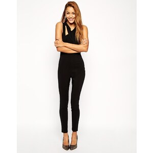 ASOS Jumpsuit with Cross Front - Black