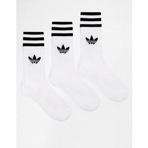 Adidas Originals - Chaussettes unies - Blanc