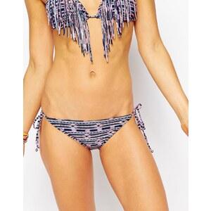 Billabong - Geo Delight - Bas de bikini motif géométrique avec liens sur les côtés - Multi