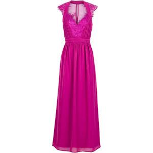 BODYFLIRT Kleid ohne Ärmel in lila (V-Ausschnitt) von bonprix