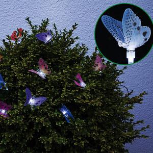 Lesara Guirlande LED Papillons