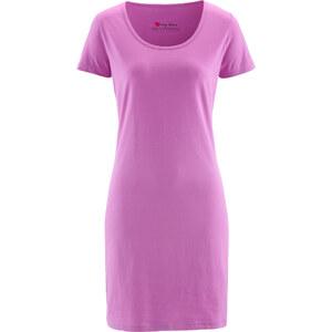bpc bonprix collection Robe extensible violette manches courtes femme - bonprix