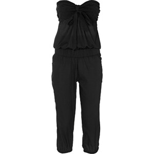 RAINBOW Combipantalon noir sans manches femme - bonprix