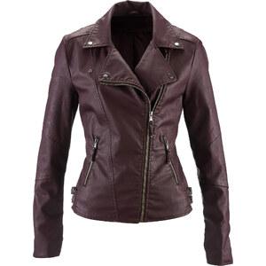 bpc bonprix collection Blouson en synthétique imitation cuir violet femme - bonprix