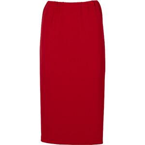BODYFLIRT Jupe crayon rouge femme - bonprix