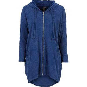 RAINBOW Gilet sweat-shirt oversize bleu manches longues femme - bonprix