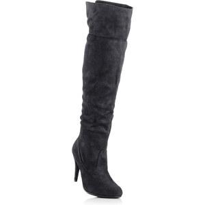 BODYFLIRT Cuissardes noir chaussures & accessoires - bonprix