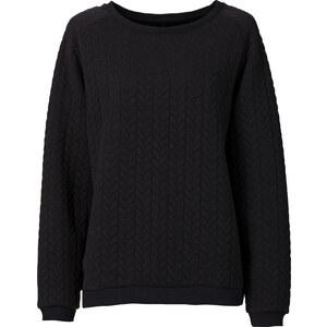 RAINBOW Sweatshirt in schwarz für Damen von bonprix