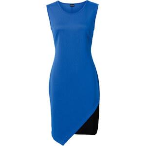 BODYFLIRT Shirtkleid ohne Ärmel in blau (Rundhals) von bonprix