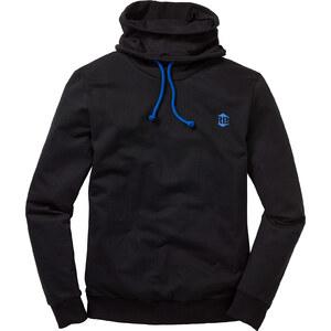 RAINBOW Sweatshirt Slim Fit langarm in schwarz für Herren von bonprix