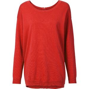 RAINBOW Pullover langarm in orange (Rundhals) für Damen von bonprix