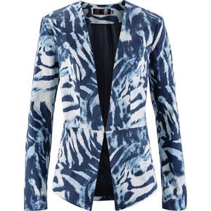 bpc selection Blazer imprimé bleu manches longues femme - bonprix