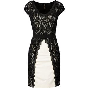 BODYFLIRT boutique Spitzenkleid/Sommerkleid in weiß von bonprix