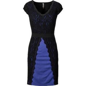 BODYFLIRT boutique Spitzenkleid/Sommerkleid in blau von bonprix