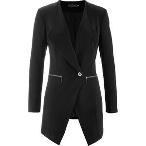 bpc selection premium Premium Long-Blazer langarm in schwarz für Damen von bonprix