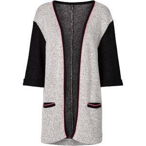 RAINBOW Sweat-Cardigan 3/4 Arm in schwarz für Damen von bonprix