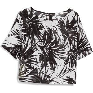 MANGO Bedruckte Bluse