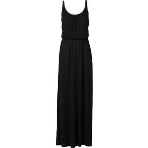 RAINBOW Maxi-Shirtkleid ohne Ärmel in schwarz von bonprix