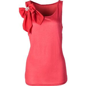 BODYFLIRT Top ohne Ärmel in rot (Rundhals) für Damen von bonprix