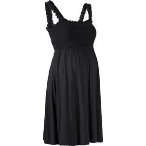 bpc bonprix collection Robe de grossesse en jersey noir sans manches femme - bonprix