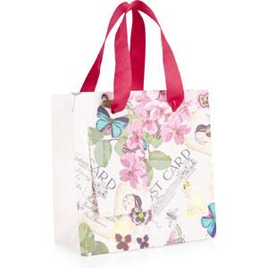 Accessorize Petit sac cadeau motif fleurs et papillons vintage