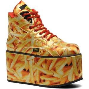 Buffalo - Canvas - Sneaker für Damen / gelb