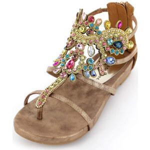 Zehentrenner Zierliche Sandalette von Alma en pena