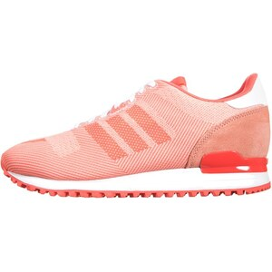 adidas Originals ZX 700 Weave Sneaker bright coral/dust pink/white