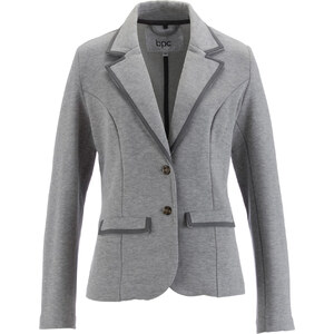 bpc bonprix collection Blazer sweat manches longues gris femme - bonprix