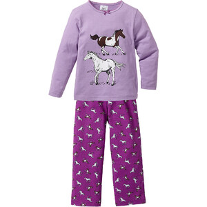 bpc bonprix collection Pyjama (Ens. 2 pces.), T. 92/98-152/158 violet lingerie - bonprix