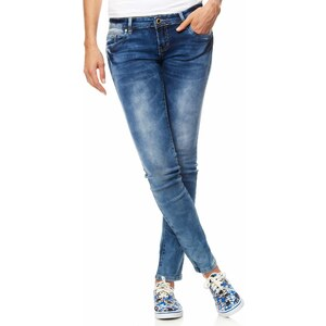 Kiabi Jean slim print sur poches arrières