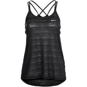 Nike Performance COOL BREEZE Top black/reflective silver