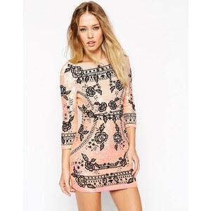 Needle & Thread - Besticktes Kleid in Ombre