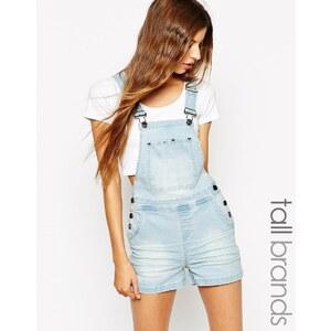 Noisy May Tall - Latzhosen-Shorts - Blau