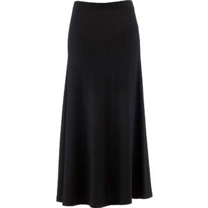 bpc selection Jupe matière T-shirt noir femme - bonprix