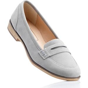 bpc bonprix collection Loafers gris chaussures & accessoires - bonprix