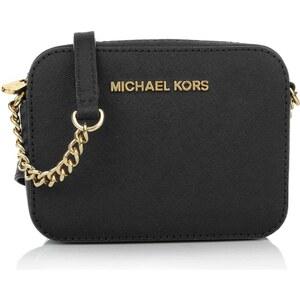 Michael Kors Tasche - Jet Set Travel Crossbody Black - in schwarz - Umhängetasche für Damen
