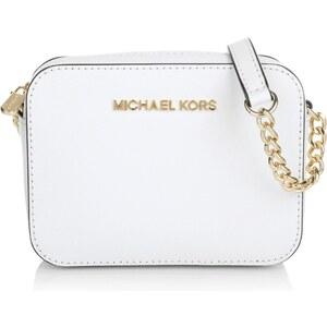 Michael Kors Tasche - Jet Set Travel Crossbody Optic White - in weiß - Umhängetasche für Damen