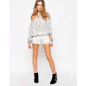 Glamorous - Shorts aus Spitze - Weiß