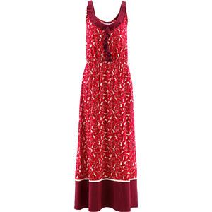 bpc bonprix collection Robe longue en jersey imprimé rouge femme - bonprix