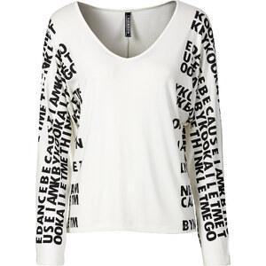 RAINBOW Langarmshirt in weiß für Damen von bonprix