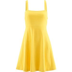 bpc bonprix collection Strandkleid ohne Ärmel in gelb von bonprix