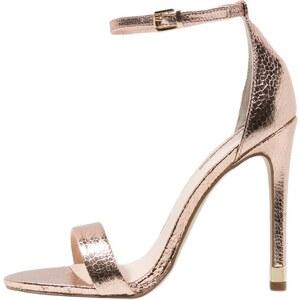 Topshop RUBY High Heel Sandaletten rose gold