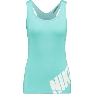 Nike Performance Top light aqua/white/white