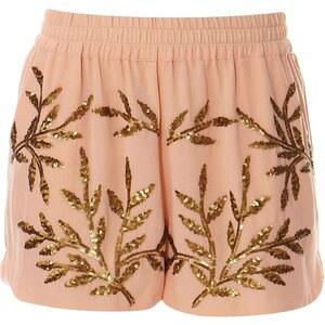 Vero Moda Shorts - pfirsichfarben