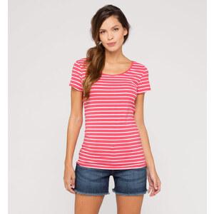 C&A Damen Gestreiftes Shirt in rot von Yessica