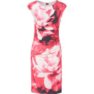 BODYFLIRT Jersey-Kleid/Sommerkleid ohne Ärmel in rot von bonprix