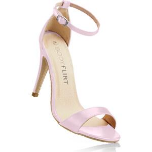 BODYFLIRT Sandales rose femme - bonprix