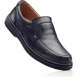 bpc selection Mocassins en cuir noir chaussures & accessoires - bonprix